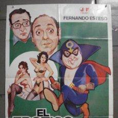Cine: CDO 7927 EL EROTICO ENMASCARADO FERNANDO ESTESO OZORES JANO POSTER ORIGINAL 70X100 ESTRENO. Lote 231210080