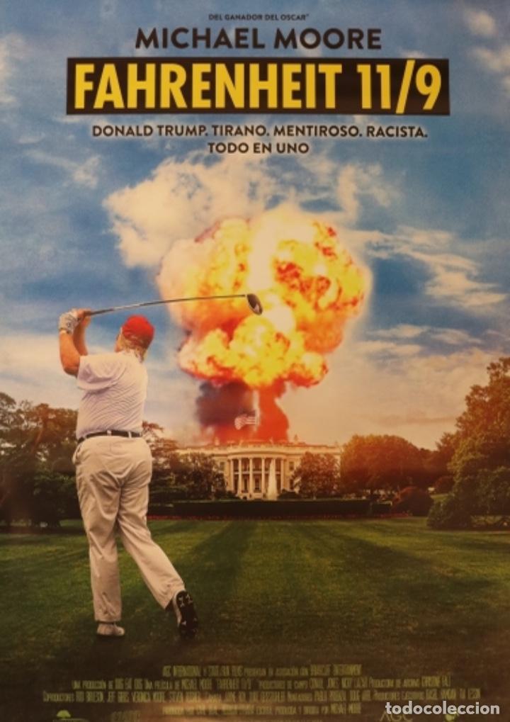 PÓSTER FARENHEIT 11/9 (Cine - Posters y Carteles - Documentales)