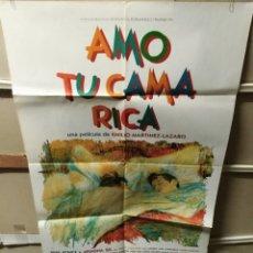 Cine: AMO TU CAMA RICA ARIADNA GIL POSTER ORIGINAL 70X100 YY (2493). Lote 231312025