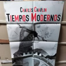 Cine: TIEMPOS MODERNOS CHAPLIN POSTER 70X100 (2503). Lote 231332240