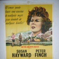 Cine: LLANTO DEL CORAZON - 1962 - LITOGRAFICO - 110 X 75. Lote 231443180