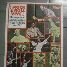 Cine: CDO 7982 VUELVEN LOS BUENOS TIEMPOS ROCK AND ROLL R'N'R HALEY BERRY POSTER ORIGINAL 70X100 ESTRENO. Lote 231496100