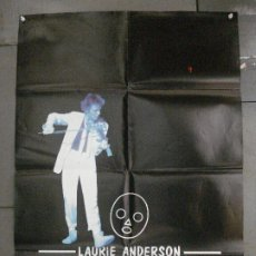 Cine: CDO 7985 HOME OF THE BRAVE LAURIE ANDERSON POSTER ORIGINAL 70X100 ESTRENO. Lote 231497705
