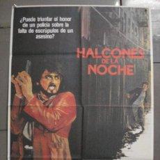 Cine: CDO 8010 HALCONES DE LA NOCHE SYLVESTER STALLONE RUTGER HAUER POSTER ORIGINAL 70X100 ESTRENO. Lote 231638545