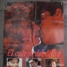 Cine: CDO 8012 EL CUERPO DEL DELITO MADONNA WILLEM DAFOE POSTER ORIGINAL ESTRENO 70X100. Lote 231640040