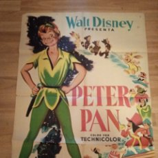 Cine: CARTEL ORIGINAL WALT DISNEY, PETER PAN. Lote 231722995