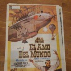 Cine: EL AMO DEL MUNDO (DIFÍCIL) ,JULIO VERNE. Lote 231770305