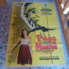 Cinema: POSTER LITOGRAFICO. Lote 232342760