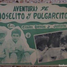 Cine: JOSELITO CARTELERA MEXICANA 27 X 40 CTMS.... Lote 232519710