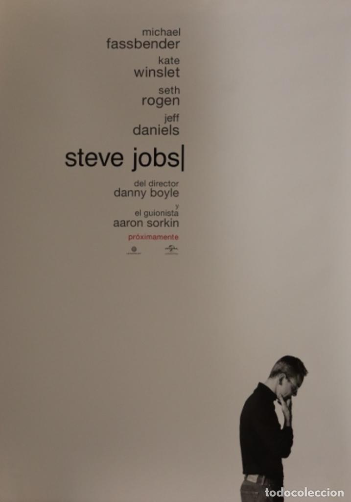 PÓSTER STEVE JOBS (Cine - Posters y Carteles - Documentales)