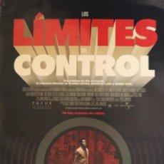Cine: PÓSTER LOS LÍMITES DEL CONTROL. Lote 232643770