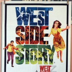 Cinema: WEST SIDE STORY, NATALIE WOOD-ROBERT WISE. CARTEL ORIGINAL 1971. 70X100. Lote 232670575
