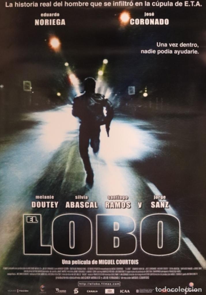 PÓSTER EL LOBO (Cine - Posters y Carteles - Suspense)