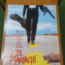 Cine: CARTEL ORIGINAL DE EL MARIACHI, 98 CM X 68 CM, SE ENVÍA EN UN TUBO DE CARTÓN.. Lote 232761456