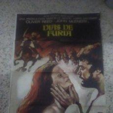 Cine: POSTER CARTEL DE CINE PELÍCULA DÍAS DE FURIA. Lote 232822458