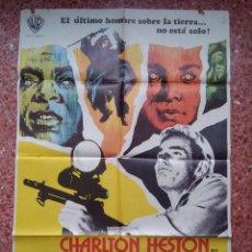 Cine: POSTER CARTEL ORIGINAL PELICULA EL ULTIMO HOMBRE VIVO-CHARLON HESTON 100X70. Lote 232834555