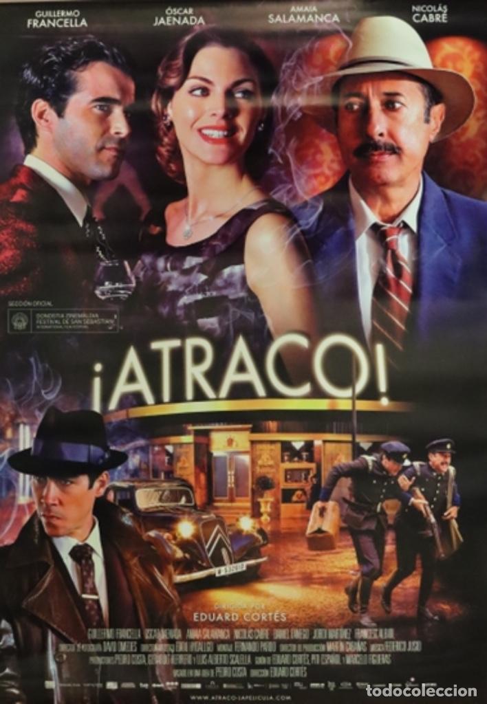 PÓSTER ATRACO (Cine - Posters y Carteles - Suspense)