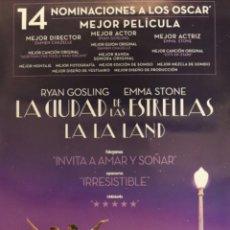 Cinema: PÓSTER LALA LAND. Lote 232890340