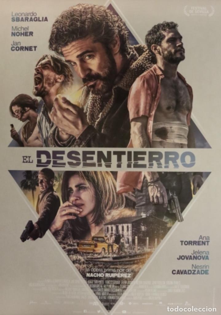 PÓSTER EL DESENTIERRO (Cine - Posters y Carteles - Suspense)