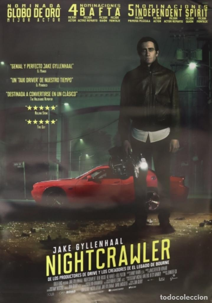 PÓSTER NIGTHCRAWLER (Cine - Posters y Carteles - Suspense)