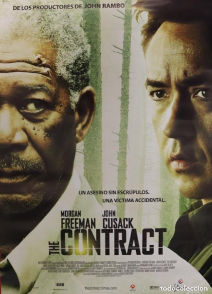 PÓSTER THE CONTRACT (Cine - Posters y Carteles - Suspense)