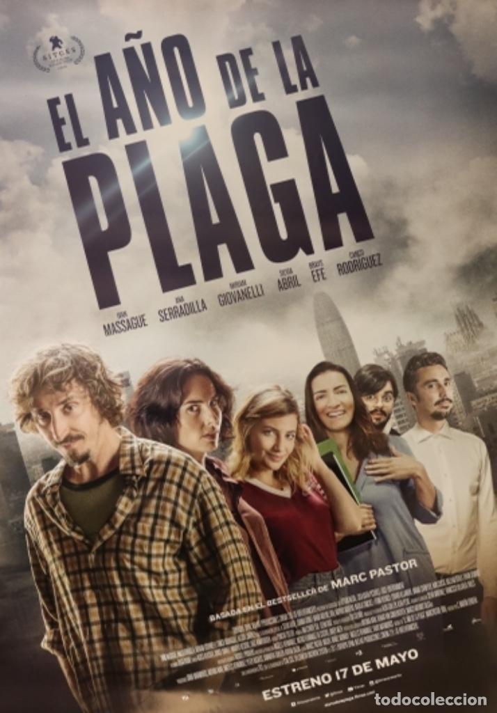 PÓSTER EL AÑO DE LA PLAGA (Cine - Posters y Carteles - Suspense)
