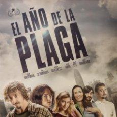 Cine: PÓSTER EL AÑO DE LA PLAGA. Lote 233037405