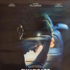 Cine: PÓSTER CUANDO LOS ANGELES DUERMEN. Lote 233037665