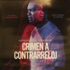 Cine: PÓSTER CRIMEN A CONTRRARELOJ. Lote 233040835