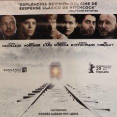 Cine: PÓSTER TRANSSIBERIAN. Lote 233043145