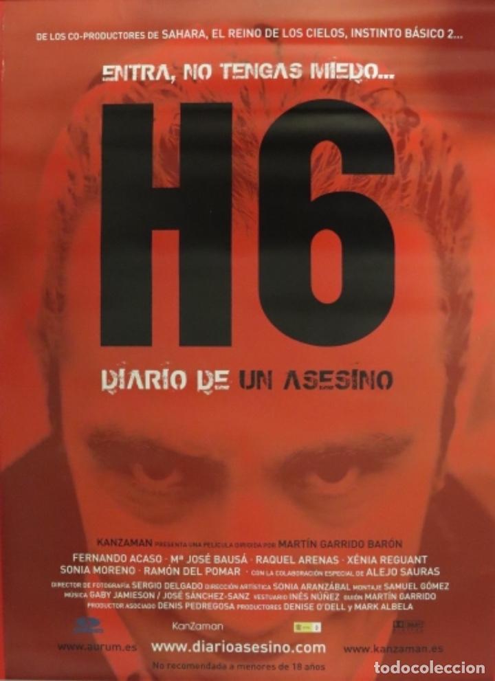 PÓSTER H6 (Cine - Posters y Carteles - Suspense)