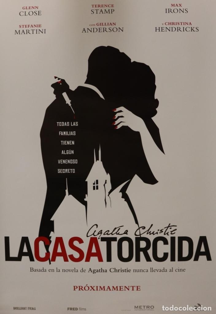 PÓSTER LA CASA TORCIDA (Cine - Posters y Carteles - Suspense)