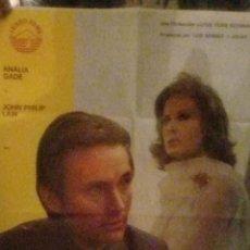 Cine: TU DIOS Y MI INFIERNO- CARTEL ORIGINAL ESTRENO-ANALIA GADE-AÑO 1975-. Lote 233397165