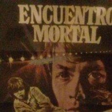 Cine: ENCUENTRO MORTAL-CARTEL ORIGINAL-1X70-HAYLEY MILLS-ESTRENO-AÑO 1976-. Lote 233397275