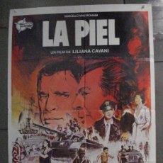 Cine: CDO 8143 LA PIEL LILIANA CAVANI MASTROIANNI BURT LANCASTER CARDINALE POSTER ORIGINAL 70X100 ESTRENO. Lote 233561025