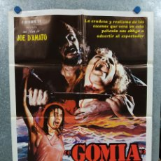 Cinéma: GOMIA, TERROR EN EL MAR EGEO. JOE D'AMATO. TISA FARROW, SAVERIO VALLONE. AÑO 1981. POSTER ORIGINAL. Lote 233562435