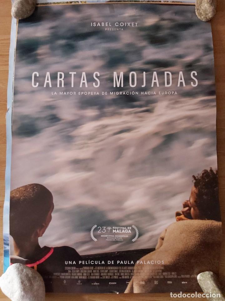 CARTAS MOJADAS - APROX 70X100 CARTEL ORIGINAL CINE (L80) (Cine - Posters y Carteles - Documentales)