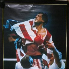 Cine: SYLVESTER STALLONE. ROCKY IV POSTER ORIGINAL 60X80. Lote 233982290