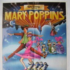 Cine: MARY POPPINS, CON JULIE ANDREWS. PÓSTER 70 X 100 CMS.. Lote 234027655