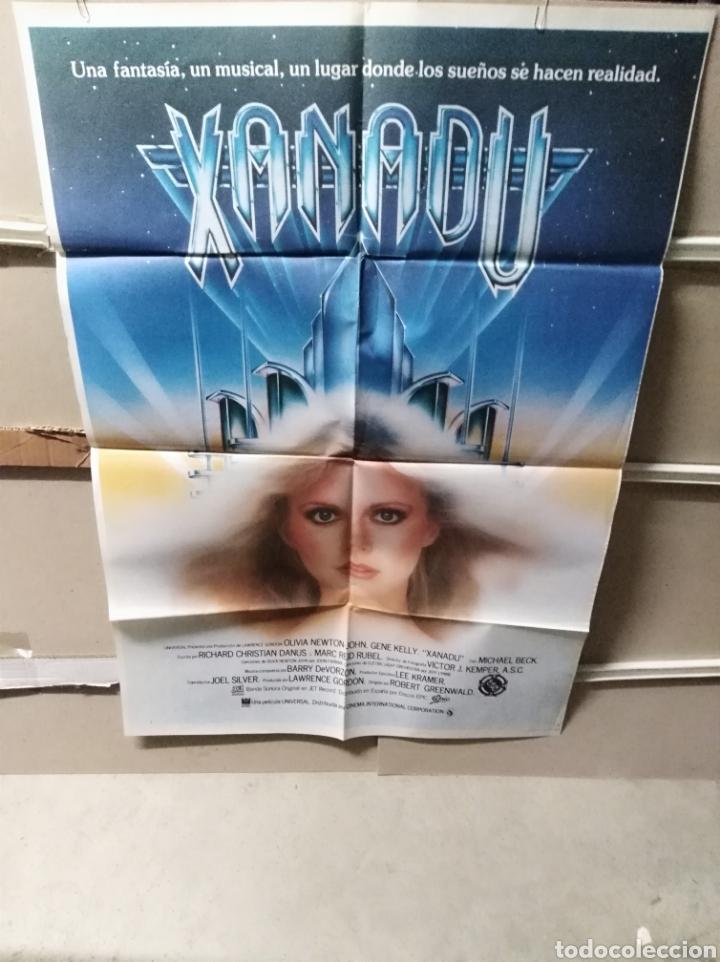 XANADU OLIVIA NEWTON JOHN POSTER ORIGINAL 70X100 YY (2521) (Cine - Posters y Carteles - Musicales)