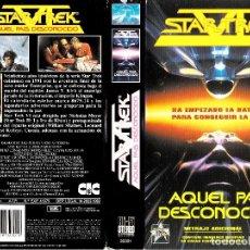 Cinéma: CARÁTULA VHS STAR TREK AQUEL PAÍS DESCONOCIDO. Lote 234353570