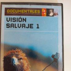 Cine: DVD VISIÓN SALVAJE I - DOCUMENTALES. Lote 234358940