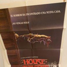 Cine: CARTEL + FOTOCROMOS. HOUSE UNA CASA ALUCINANTE. Lote 234368565