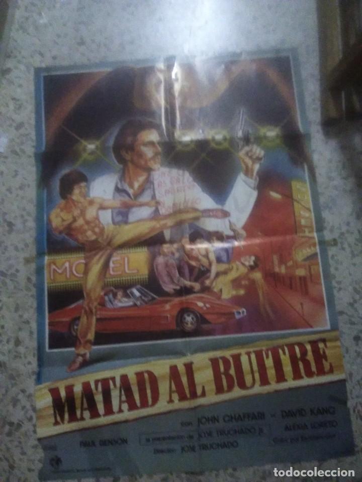 CARTEL CINE ORIGINAL MATAD AL BUITRE (1981) / 70X100 / JOSÉ TRUCHADO (Cine - Posters y Carteles - Acción)