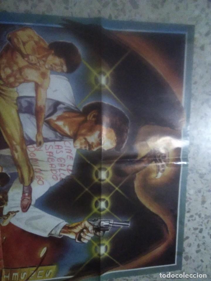 Cine: cartel cine original MATAD AL BUITRE (1981) / 70x100 / José Truchado - Foto 2 - 234485140