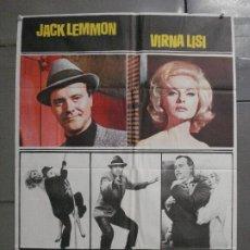 Cine: CDO 8262 COMO MATAR A LA PROPIA ESPOSA JACK LEMMON VIRNA LISI POSTER ORIGINAL 70X100 ESTRENO. Lote 234486120