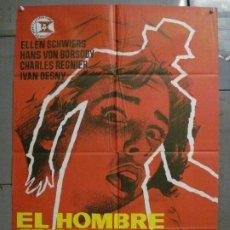 Cinema: CDO 8324 2 EL JUSTICIERO CIEGO RINGO STARR TONY ANTHONY SPAGHETTI POSTER ORIGINAL 70X100 ESTRENO. Lote 234555790