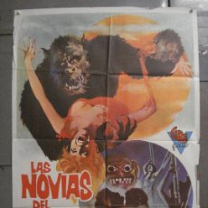 Cine: CDO 8325 LAS NOVIAS DEL MONSTRUO EDDIE ROMERO MARTI RIPOLL POSTER ORIGINAL 70X100 ESTRENO. Lote 234559810