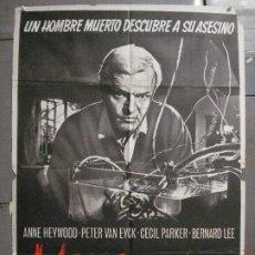 Cine: CDO 8333 VENGANZA FREDDIE FRANCIS PETER VAN EYCK POSTER ORIGINAL ESPAÑOL 70X100 ESTRENO. Lote 234666760