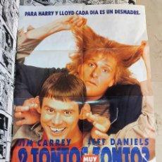 Cine: POSTER GRANDE PELICULA 2 TONTOS MUY TONTOS. Lote 234721085